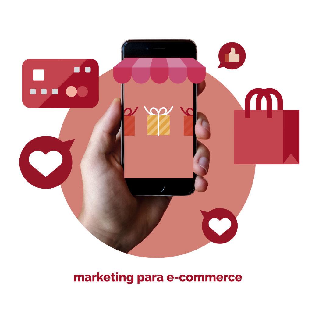 Ilustración Duin de Marketing para e-commerce
